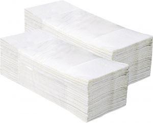 Ręczniki składane Z KLASIK, białe, 4000szt jednowa